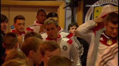 Joachim Löw – Scotland v Germany – 1st half 1
