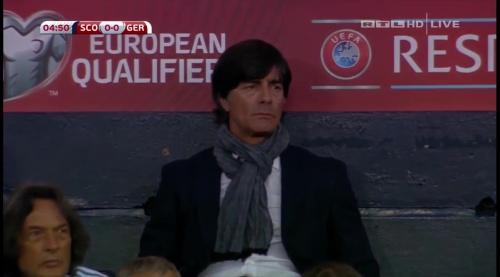 Joachim Löw – Scotland v Germany – 1st half 13
