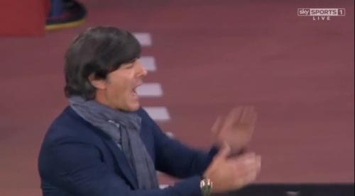 Joachim Löw – Scotland v Germany – 1st half 16