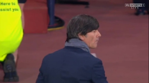Joachim Löw – Scotland v Germany – 1st half 17