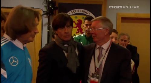Joachim Löw – Scotland v Germany – 1st half 2