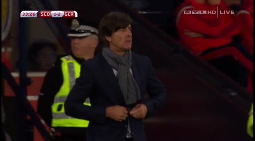 Joachim Löw – Scotland v Germany – 1st half 21