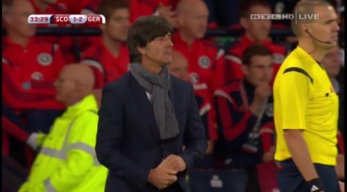 Joachim Löw – Scotland v Germany – 1st half 22