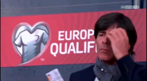 Joachim Löw – Scotland v Germany – 1st half 7