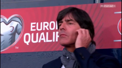 Joachim Löw – Scotland v Germany – 1st half 8