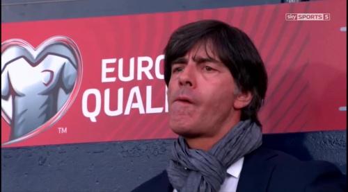 Joachim Löw – Scotland v Germany – 1st half 9