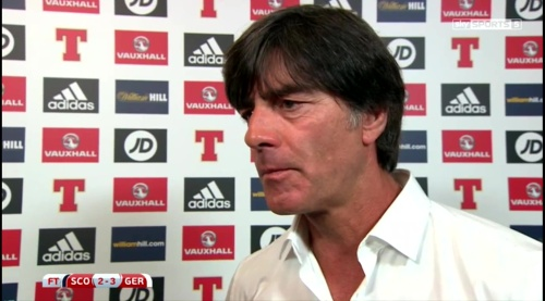 Joachim Löw – Scotland v Germany – post-match interview 2