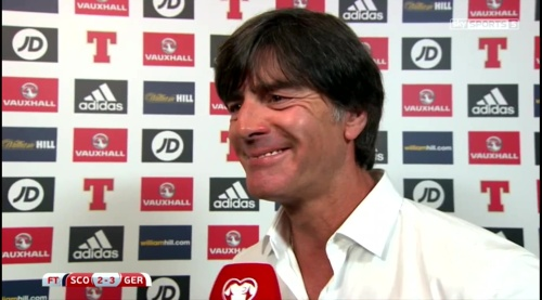 Joachim Löw – Scotland v Germany – post-match interview 4