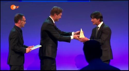 Joachim Löw - Goldene Sportpyramide 2015 2