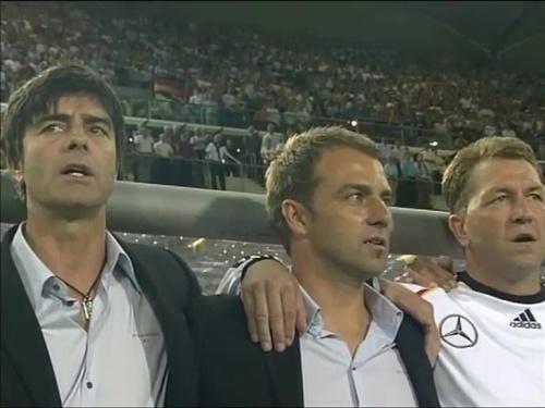 Joachim Löw & Hansi Flick – Deutschland v Irland 2
