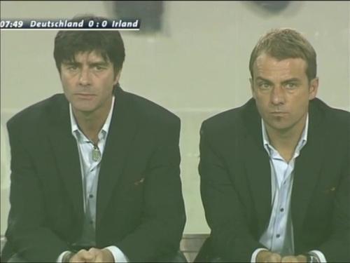 Joachim Löw & Hansi Flick – Deutschland v Irland 3