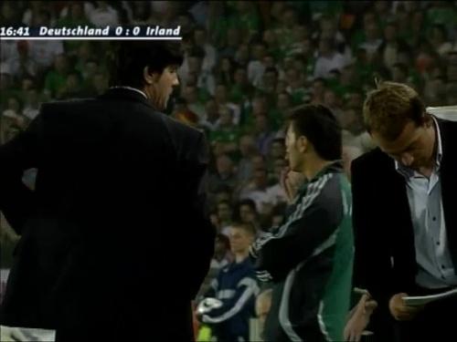 Joachim Löw & Hansi Flick – Deutschland v Irland 5
