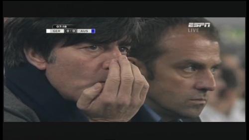 Joachim Löw & Hansi Flick – Germany v Australia (2011) 1