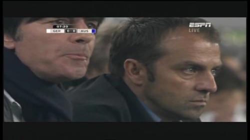 Joachim Löw & Hansi Flick – Germany v Australia (2011) 2