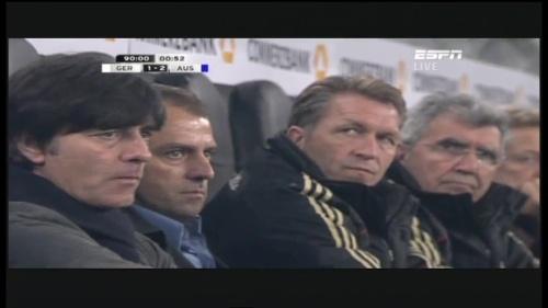 Joachim Löw & Hansi Flick – Germany v Australia (2011) 26