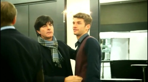 Joachim Löw& Thomas Müller 2