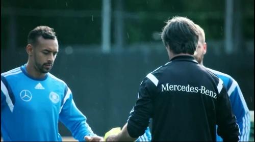 Karim Bellarabi & Joachim Löw – training 1