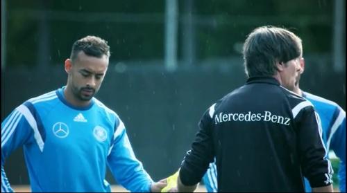 Karim Bellarabi & Joachim Löw – training 2