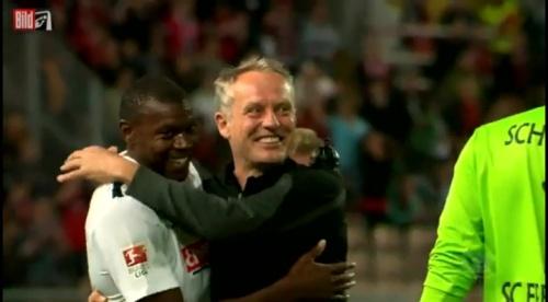 Karim Guede & Christian Streich - 1.FCK v SC Freiburg
