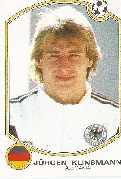 Klinsmann Futbol 1992-93 sticker