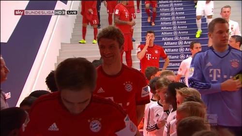 Lahm, Müller & Neuer - Bayern v Augsburg 2