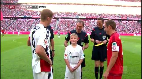 Lars Bender & Philipp Lahm - FCB v B04 1