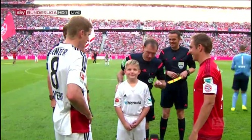 Lars Bender & Philipp Lahm - FCB v B04 2
