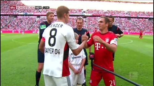 Lars Bender & Philipp Lahm - FCB v B04 3