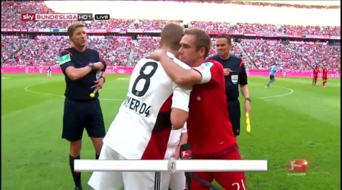 Lars Bender & Philipp Lahm - FCB v B04 4