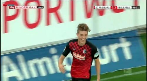 Lukas Hufnagel - SC Freiburg v Arminia Bielefeld 1