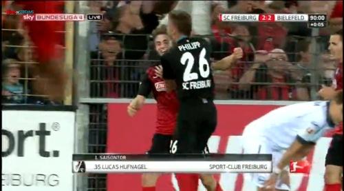 Lukas Hufnagel - SC Freiburg v Arminia Bielefeld 3