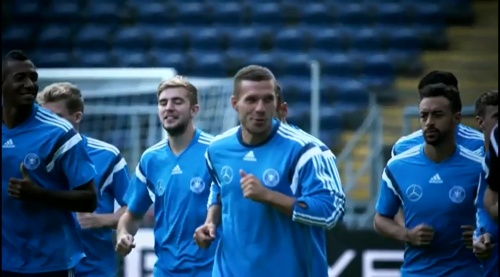 Lukas Podolski - Der Tag in Frankfurt
