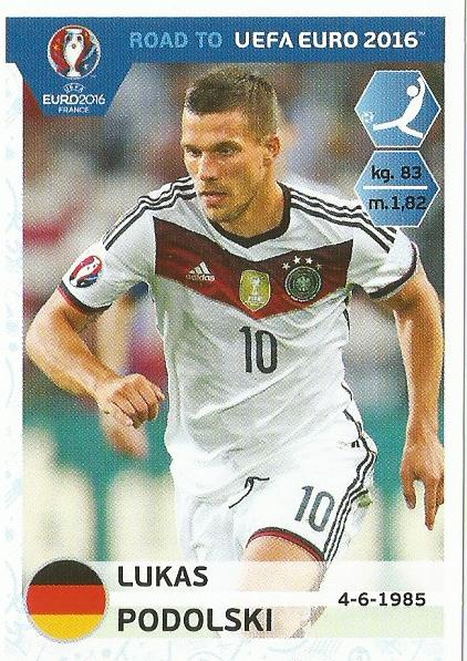 Lukas Podolski – Germany - Road to Euro 2016