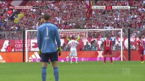 Manuel Neuer - Bayern v Augsburg 2