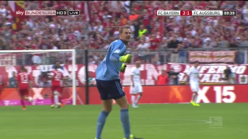 Manuel Neuer - Bayern v Augsburg 5