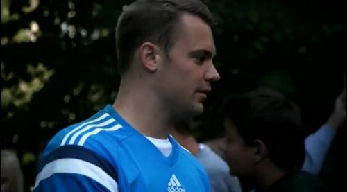 Manuel Neuer - Der Tag in Frankfurt