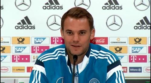 Manuel Neuer – SCO-DEU press conference 10