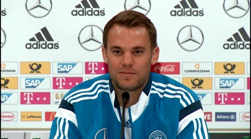 Manuel Neuer – SCO-DEU press conference 11
