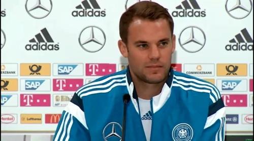 Manuel Neuer – SCO-DEU press conference 12