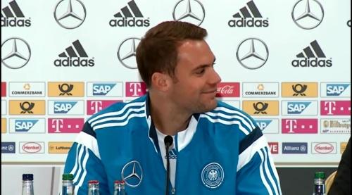 Manuel Neuer – SCO-DEU press conference 2