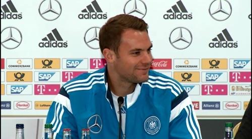 Manuel Neuer – SCO-DEU press conference 3