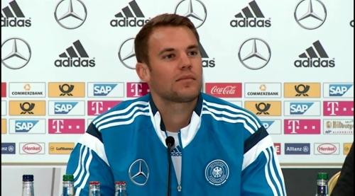 Manuel Neuer – SCO-DEU press conference 4