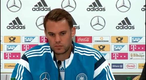 Manuel Neuer – SCO-DEU press conference 5