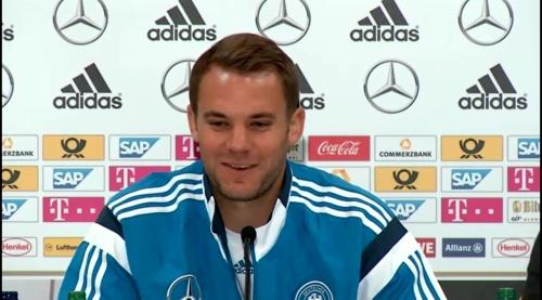 Manuel Neuer – SCO-DEU press conference 6