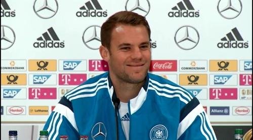 Manuel Neuer – SCO-DEU press conference 7
