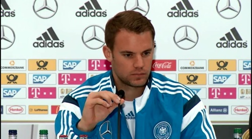 Manuel Neuer – SCO-DEU press conference 8