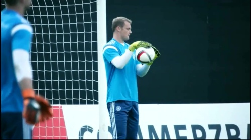 Manuel Neuer –training 1