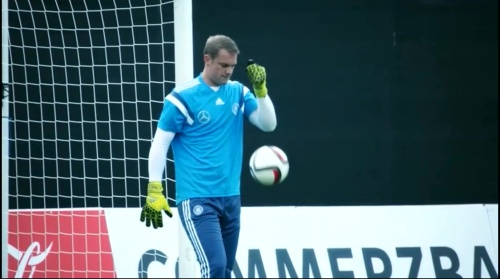 Manuel Neuer –training 2