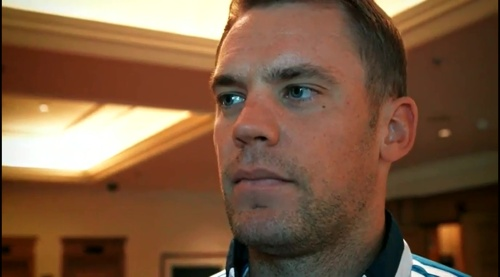 Manuel Neuer interview 5