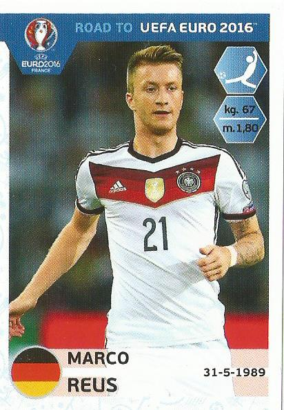 Marco Reus - Germany - Road to Euro 2016